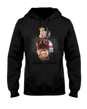 Lion-England Hooded Sweatshirt front