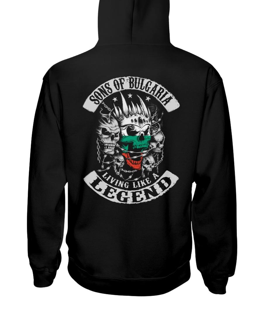 SONS OF Bulgaria Hooded Sweatshirt