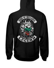 SONS OF Bulgaria Hooded Sweatshirt back