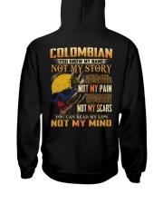 Colombian Hooded Sweatshirt back