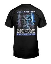 I DONT GET UP 57-7 Classic T-Shirt thumbnail