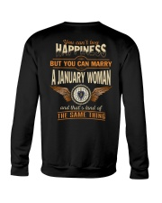 HAPPINESS MASSACHUSETTS1 Crewneck Sweatshirt thumbnail