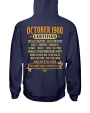 MESS WITH YEAR 80-10 Hooded Sweatshirt back