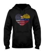 MY HEART Venezuela Hooded Sweatshirt thumbnail