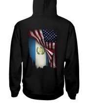 Flag-America-Guatemala Hooded Sweatshirt back