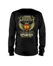 Legends - Spanish 08 Long Sleeve Tee thumbnail