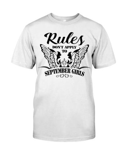 RULES - GIRLS 09