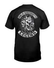 Sons of Massachusetts Classic T-Shirt back