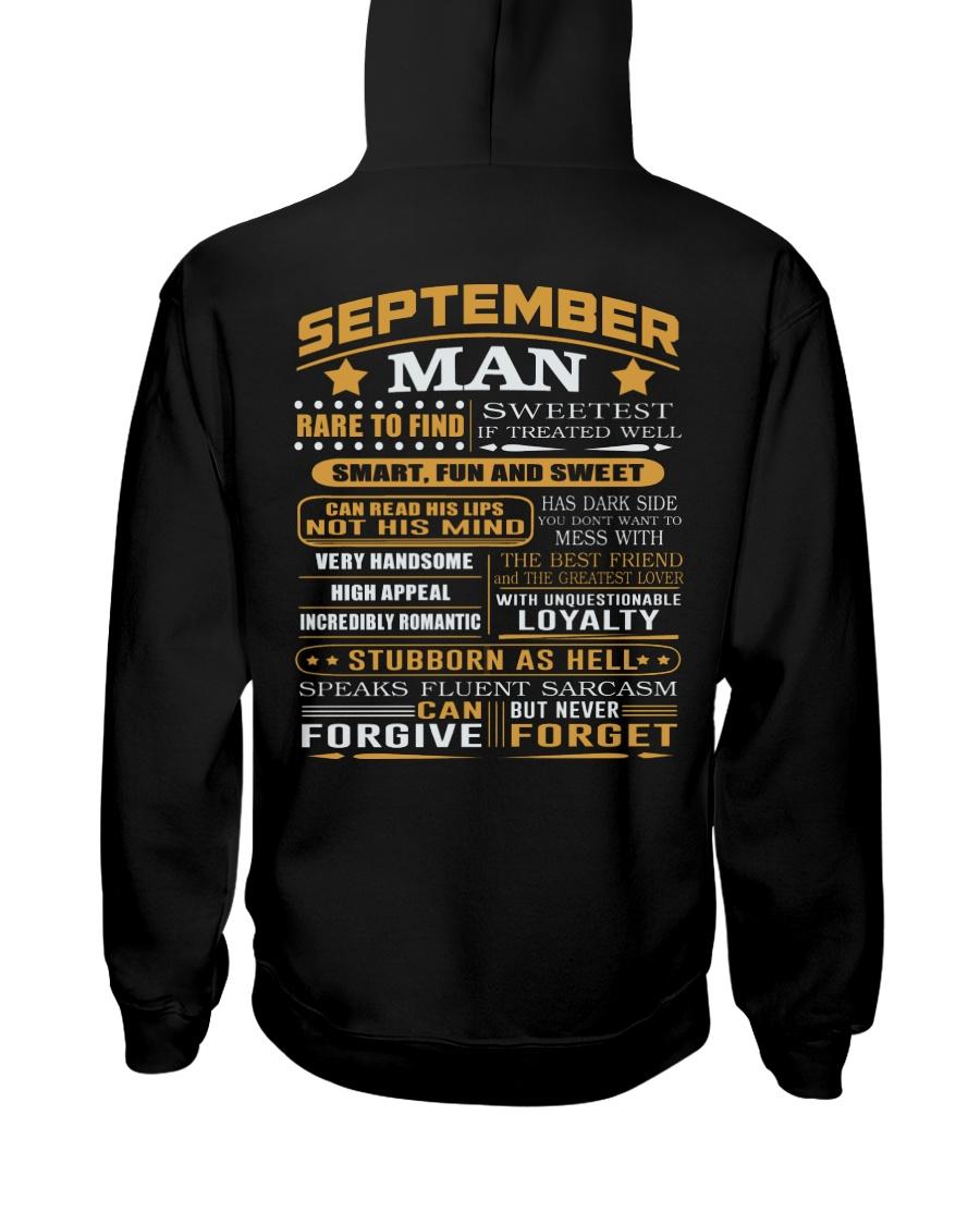 MAN FORGET 9 Hooded Sweatshirt