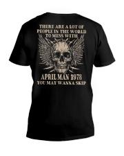 I AM A GUY 78-4 V-Neck T-Shirt thumbnail