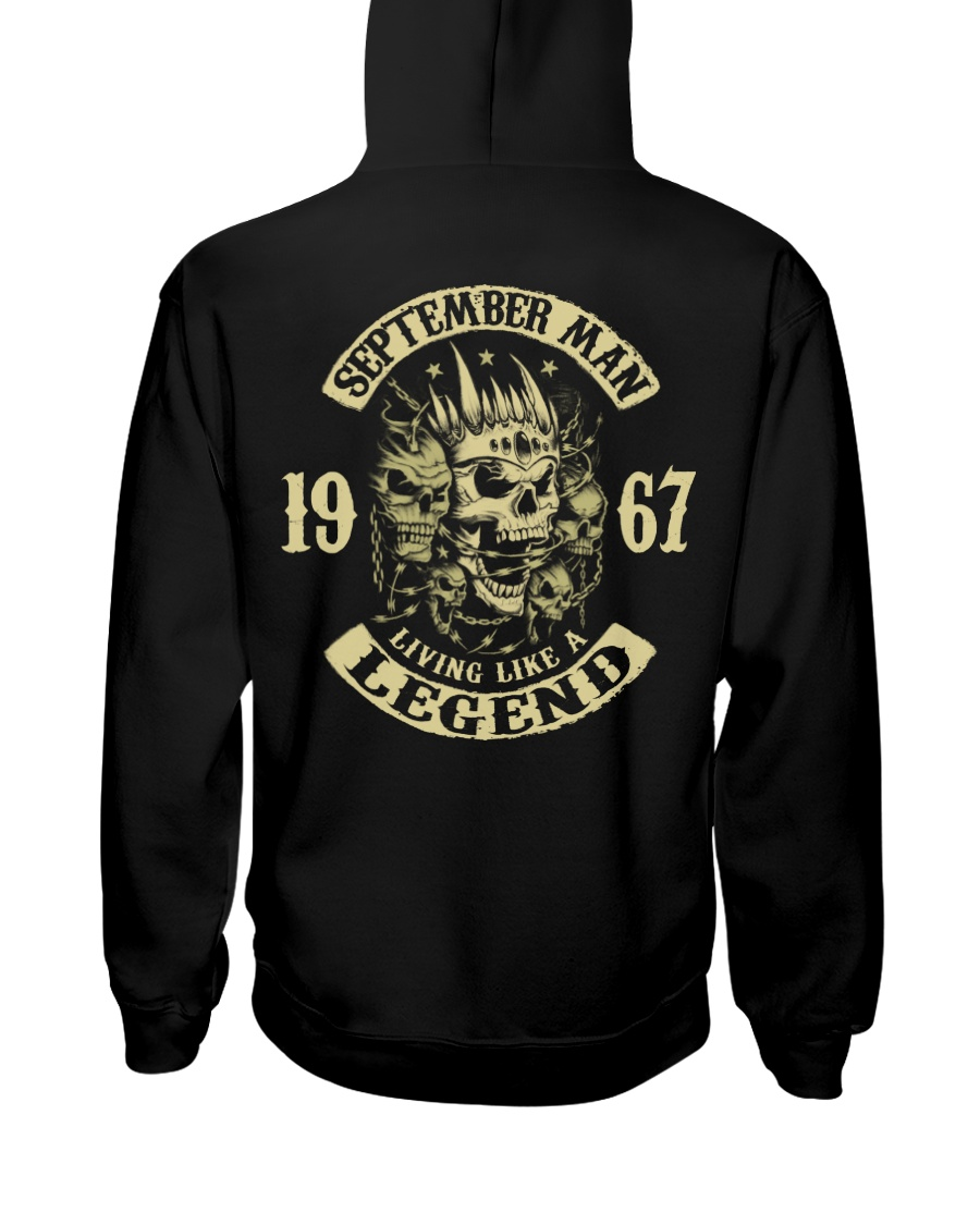 MAN 1967-9 Hooded Sweatshirt
