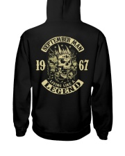 MAN 1967-9 Hooded Sweatshirt back