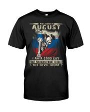 GOOD GUY SLOVENIAN8 Classic T-Shirt front