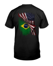 Flag-Brazil Premium Fit Mens Tee thumbnail