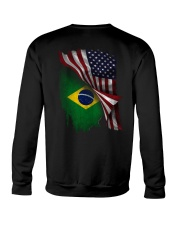 Flag-Brazil Crewneck Sweatshirt thumbnail
