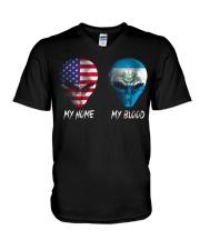 El Salvador V-Neck T-Shirt thumbnail