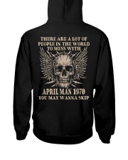 I AM A GUY 70-4 Hooded Sweatshirt back