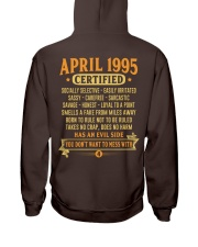MESS WITH YEAR 95-4 Hooded Sweatshirt back