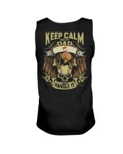 Keep Calm Dad - Cyprus Unisex Tank thumbnail