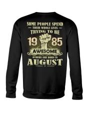 Be Awesome 1985- 8 Crewneck Sweatshirt thumbnail