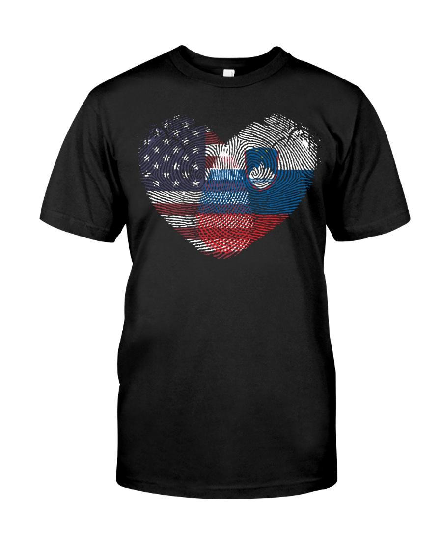 MY HEART Slovenia Classic T-Shirt