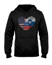 MY HEART Slovenia Hooded Sweatshirt thumbnail