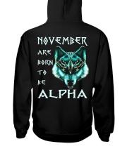 ALPHA 11 Hooded Sweatshirt back