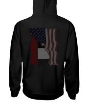 United Arab Emirates  Hooded Sweatshirt back