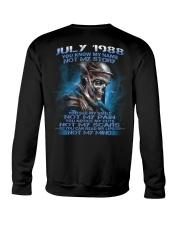 NOT MY 88-7 Crewneck Sweatshirt thumbnail