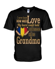 I Never Know- Grandma- Romania V-Neck T-Shirt thumbnail
