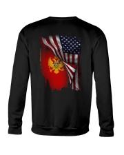 Flag-America-Montenegro Crewneck Sweatshirt thumbnail