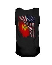 Flag-America-Montenegro Unisex Tank thumbnail