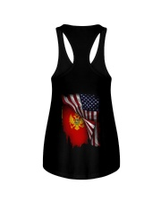 Flag-America-Montenegro Ladies Flowy Tank thumbnail