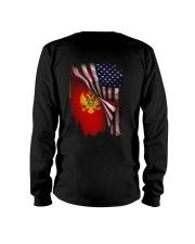 Flag-America-Montenegro Long Sleeve Tee thumbnail