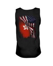 Flag-America-Hong Kong Unisex Tank thumbnail