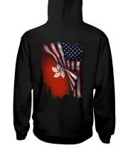 Flag-America-Hong Kong Hooded Sweatshirt back