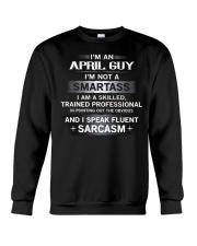 SMARTASS GUY4 Crewneck Sweatshirt thumbnail