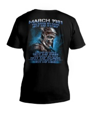 NOT MY 81-3 V-Neck T-Shirt thumbnail