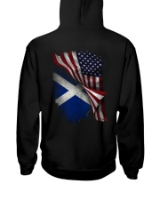 Flag-Scotland Hooded Sweatshirt back