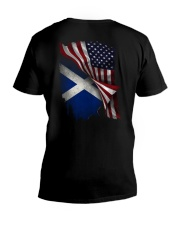 Flag-Scotland V-Neck T-Shirt thumbnail