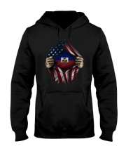 American-Haiti Hooded Sweatshirt front