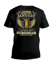 Legends - Romanian 01 V-Neck T-Shirt thumbnail
