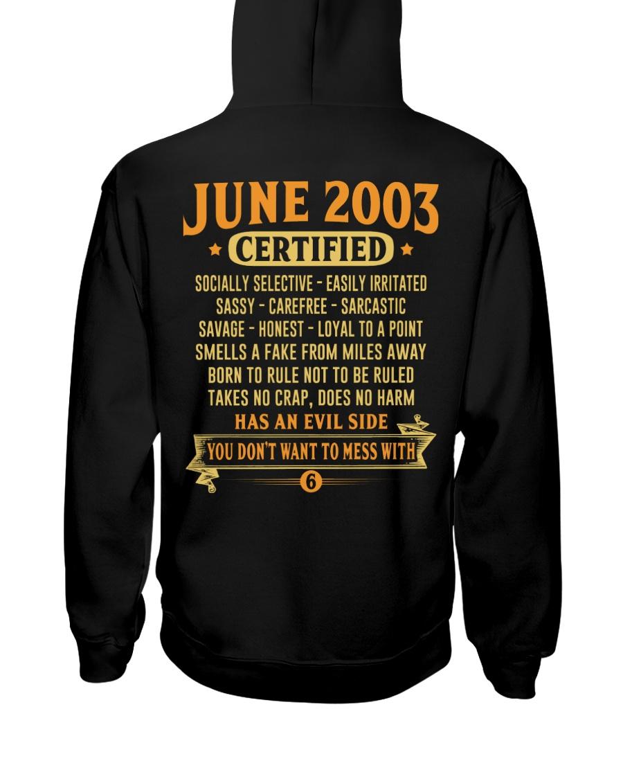 MESS WITH YEAR 03-6 Hooded Sweatshirt