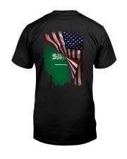 Flag-America-Saudi Arabia Classic T-Shirt thumbnail