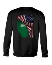 Flag-America-Saudi Arabia Crewneck Sweatshirt thumbnail