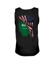 Flag-America-Saudi Arabia Unisex Tank thumbnail
