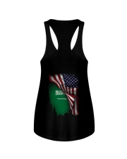 Flag-America-Saudi Arabia Ladies Flowy Tank thumbnail