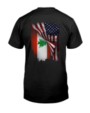 Flag-America-Lebanon Premium Fit Mens Tee thumbnail