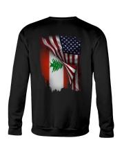 Flag-America-Lebanon Crewneck Sweatshirt thumbnail