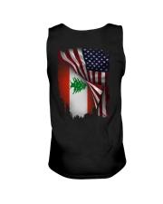 Flag-America-Lebanon Unisex Tank thumbnail